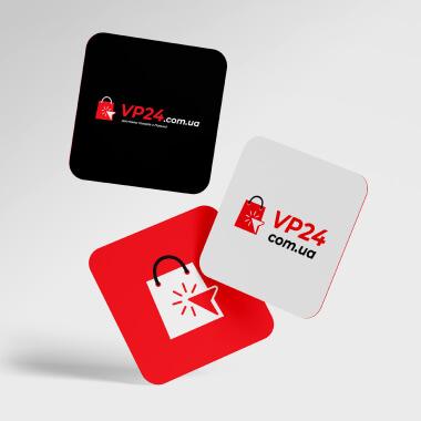 Разработка логотипа для VP24.COM.UA