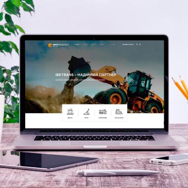 Розробка сайту для IBKTRANS