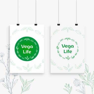 Розробка логотипу для Vega Life