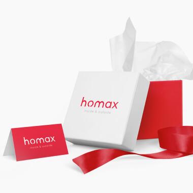Редизайн логотипу для Homax
