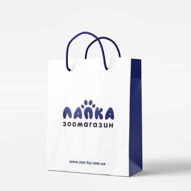 Дизайн пакету для зоомагазину